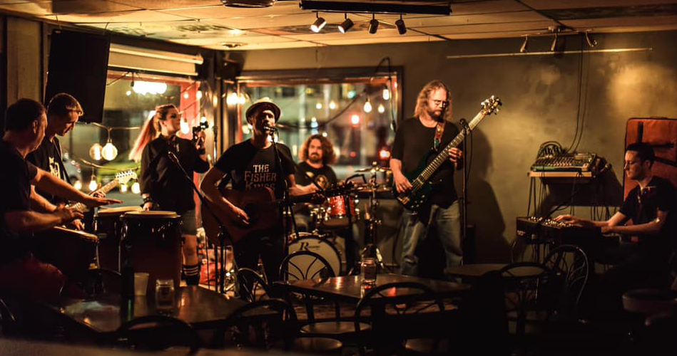 Band playing at downtown Windsor bar