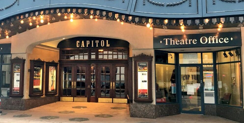 Entrance of the Capitol Theatre