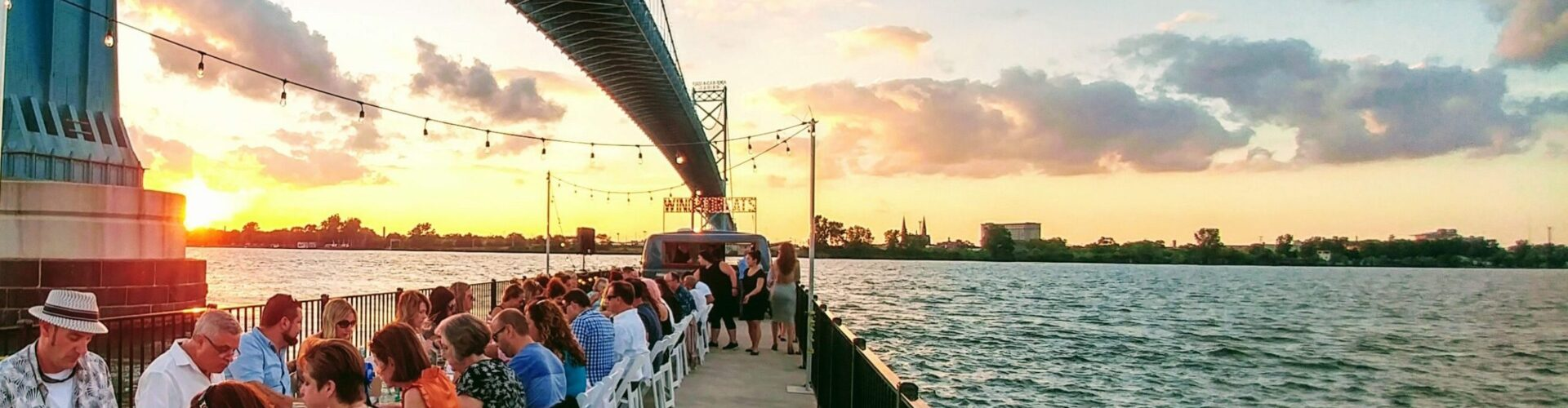 Windsor Eats Annual Dinner on a Pier
