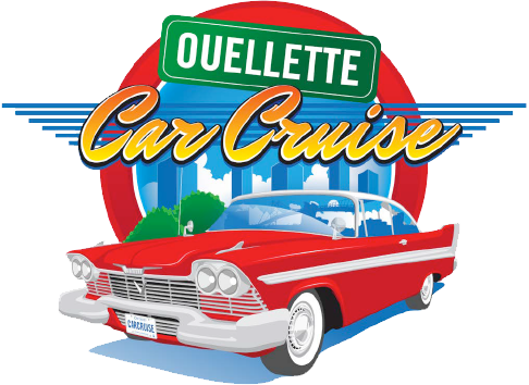 Ouellette Car Cruise logo