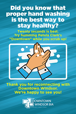 Did You Know That Proper Hand Washing Is The Best Way To Stay Healthy poster
