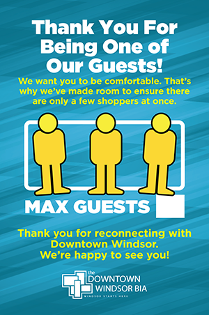Thank You For Being One of Our Guests poster