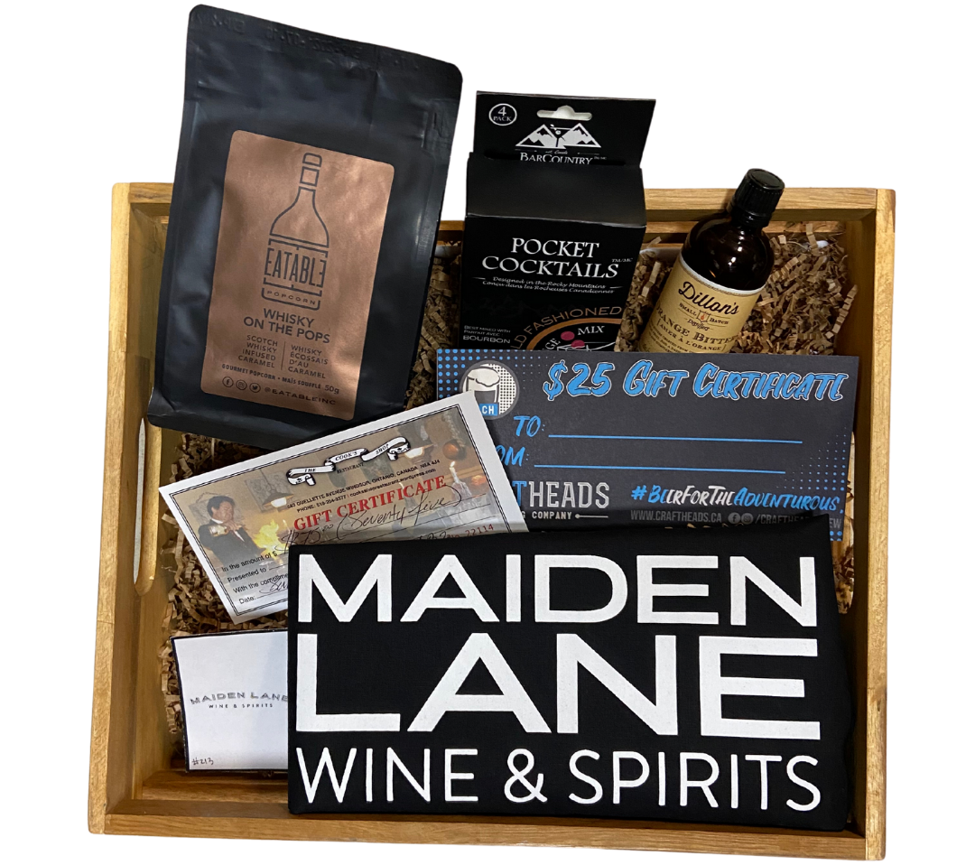 """Local Provisions """"Unwrap the Magic"""" gift basket"""